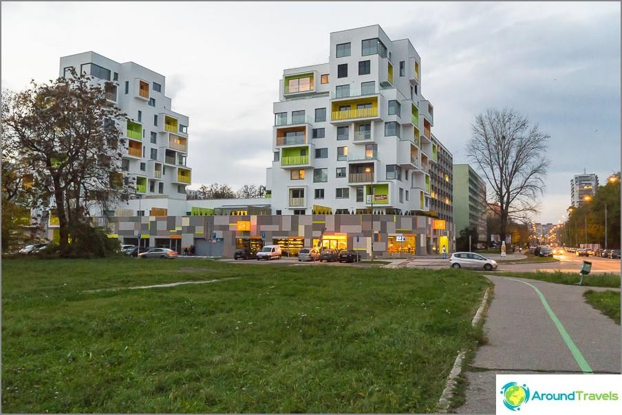 Сладки къщи в Братислава