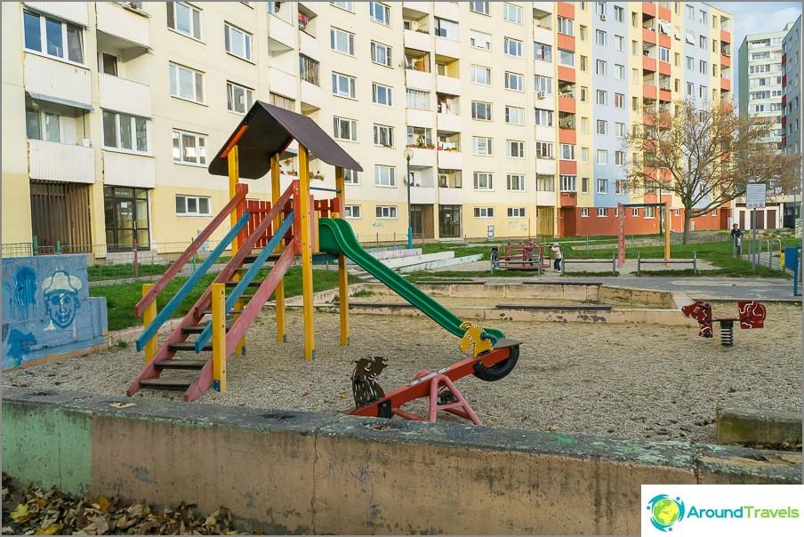 Област Петрзалка в Братислава