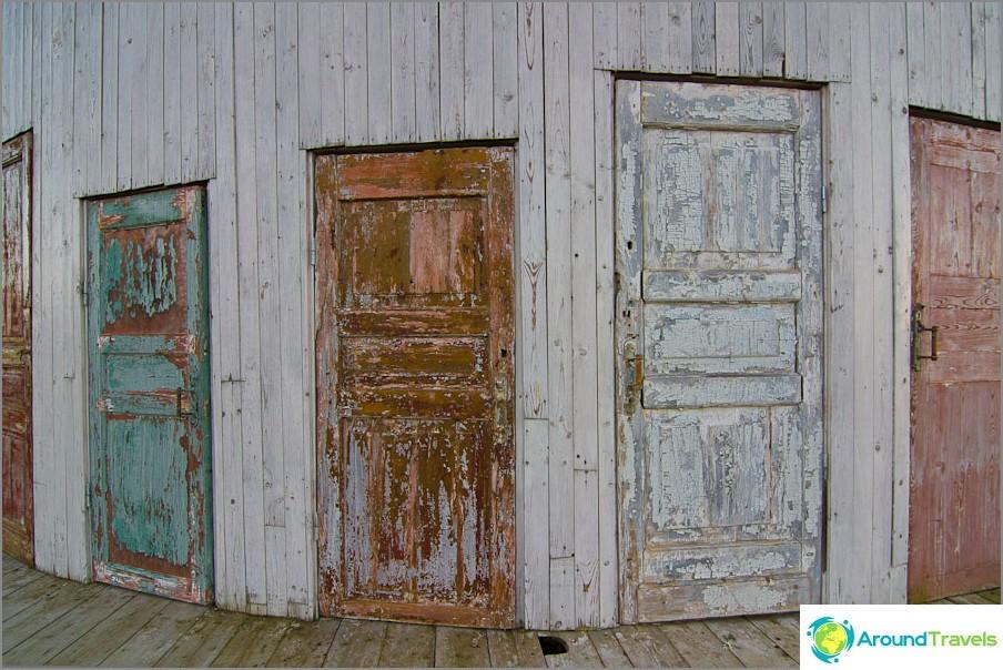 Hämmästyttävän Rotundan ovet