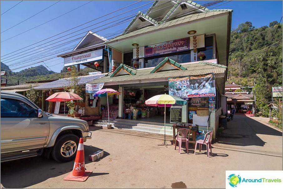 Kahvilavastaanotto Naha Guesthouse