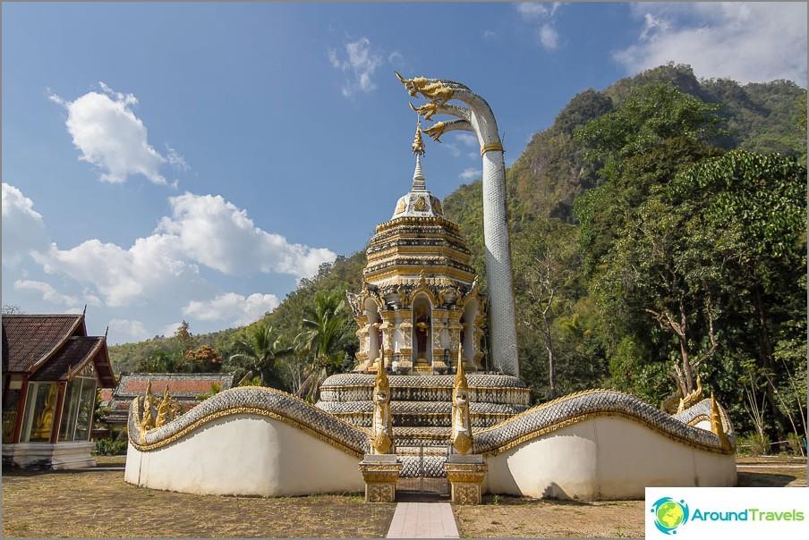Chiang Daon temppelin alue