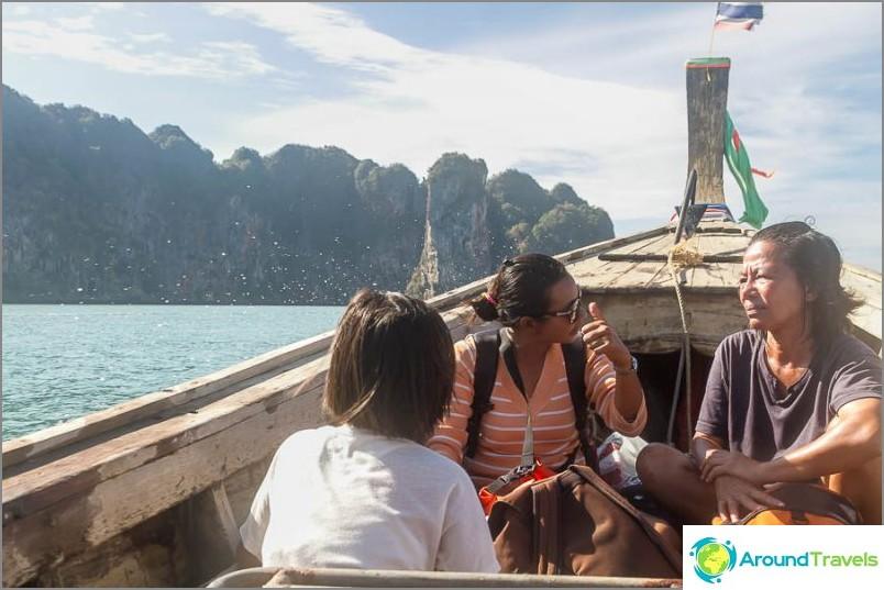 Плавайте от Ао Нанг до Райлай