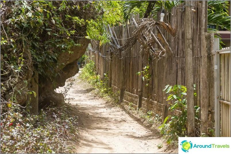 Път от Западна Райлай на Изток