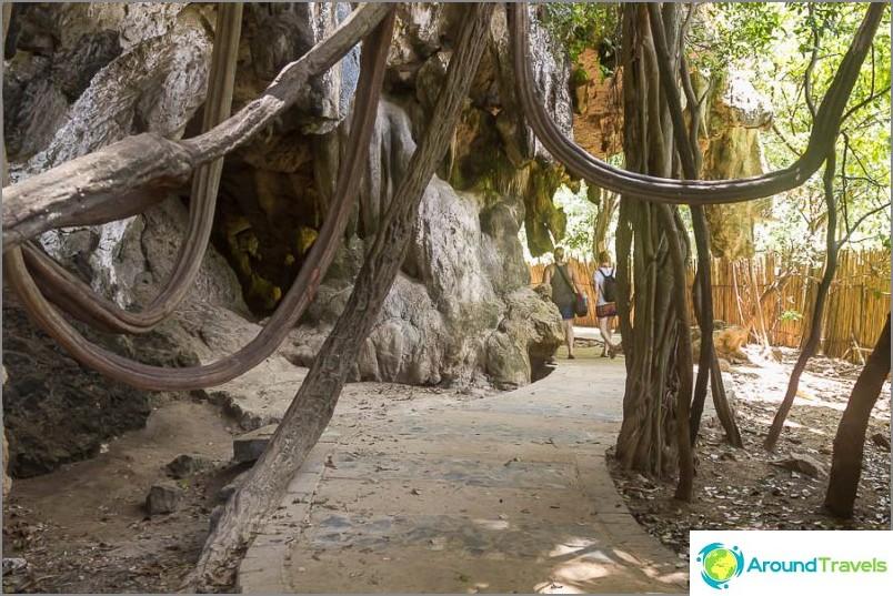 Красив път до плаж Прананг