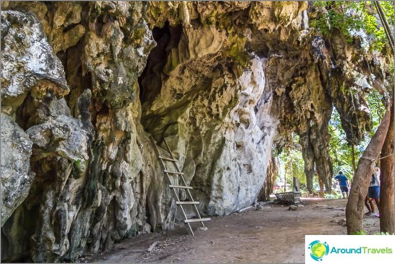 По пътя към пещерата, пещерата Франанг Найй има и други по-малки