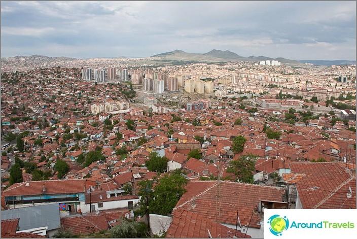 Ankara. Vanha kaupunki.