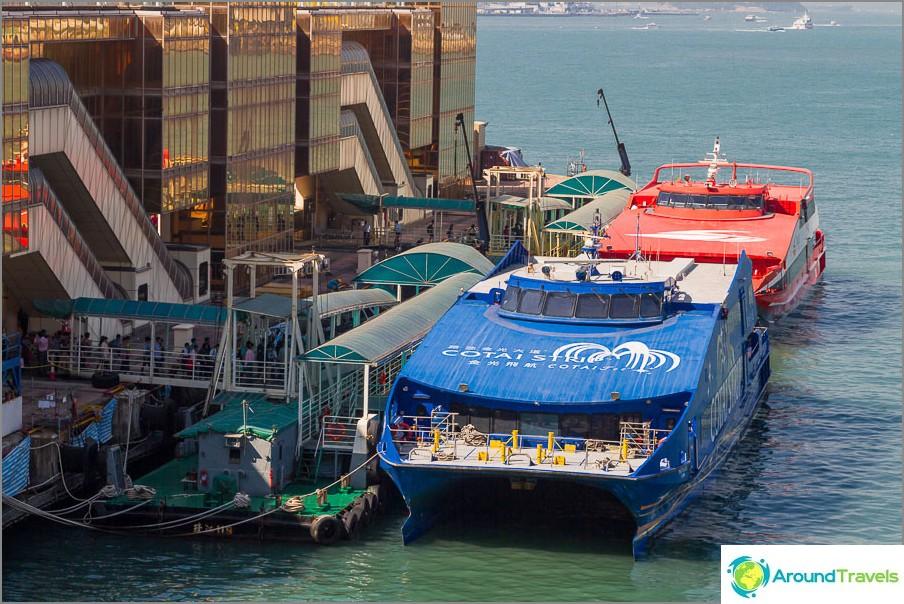 Hongkongin Macaon lautta