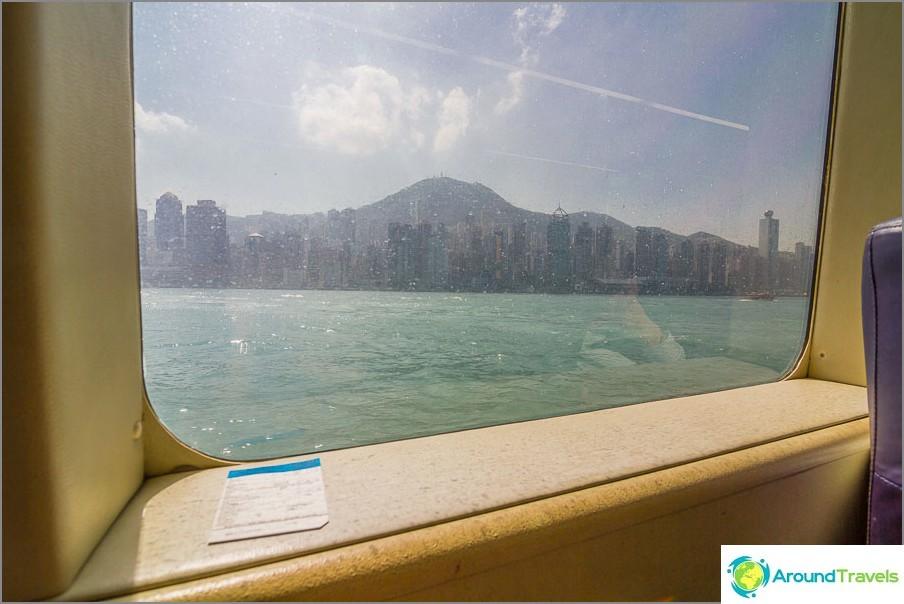 Istumme mukavammin ja katsomme kelluvaa Hong Kongia