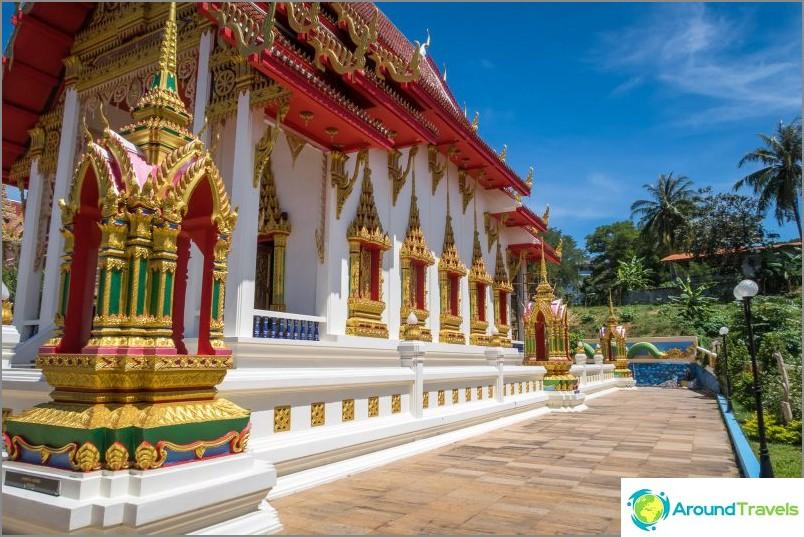 Wat Suwankiriket в Пукет - храм Карон и Нощен пазар