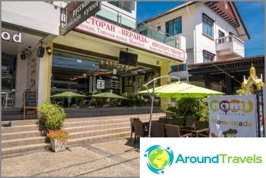 Veranda-ravintola Phuketissa - venäläisiä ruokia ja thaimaalaisia