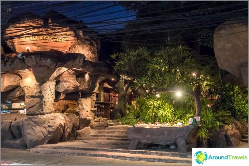 Ravintola Dino Park tai pikemminkin Dino Kitchen