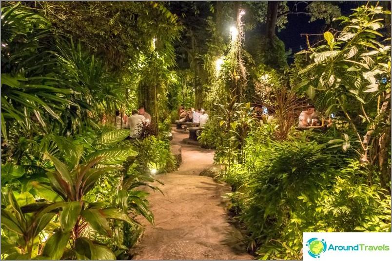 Dino Park -ravintola Phuketissa - Ruoka- ja teemapuisto
