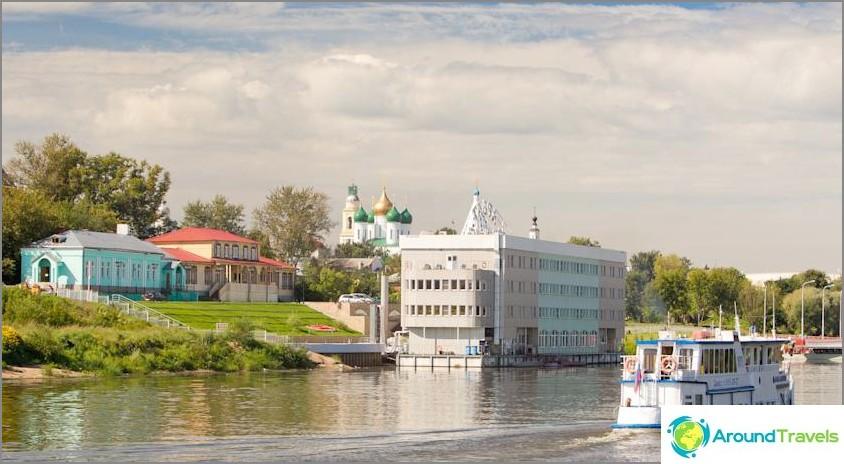 Missä yöpyä Kolomnassa - hotellit ja hostellit