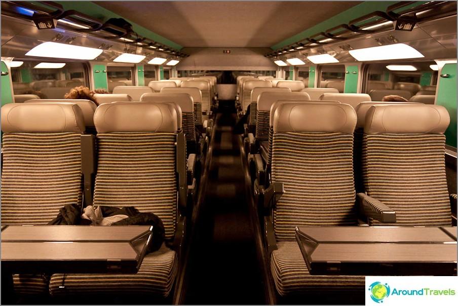 Suurnopeusjuna Grenoble - Pariisi