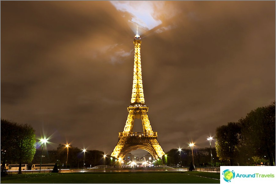 Eiffel-torni - Pariisi