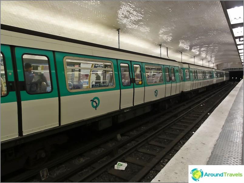 Pariisin metro - kumirenkaat