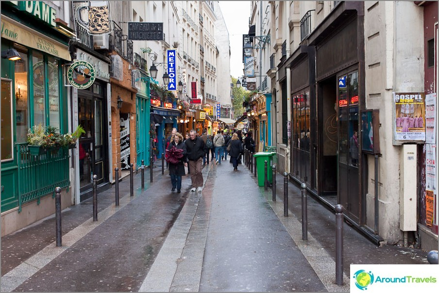 Pariisin kaupungin kadut