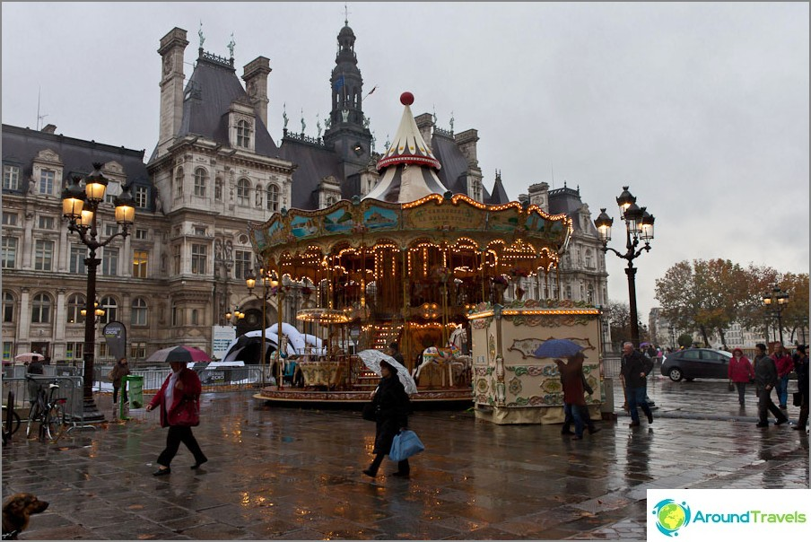 Pariisi kävelee