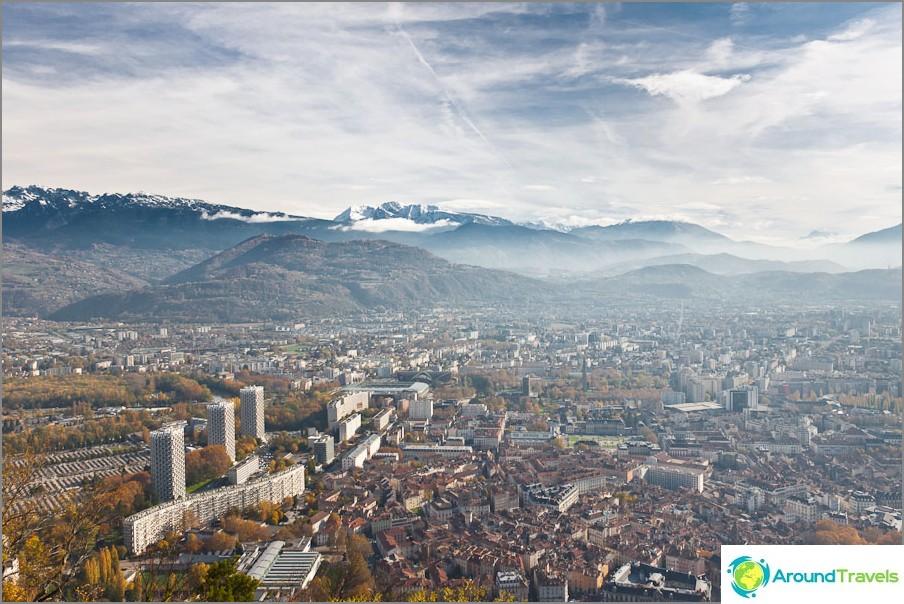 Grenoble toisesta katselusta Bastille