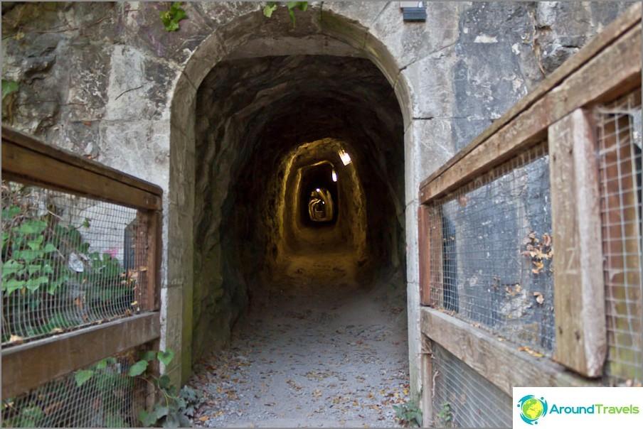 Poistu luolasta lähellä Grenoblea