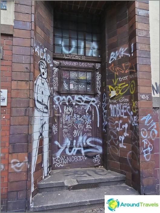 Графити за къщи в Берлин