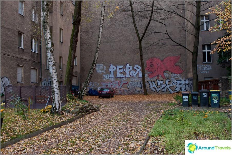 Обикновен двор в Берлин
