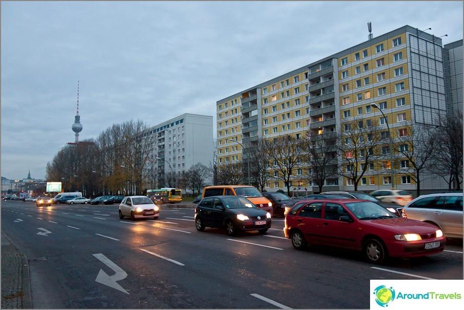 Съветски къщи в Берлин