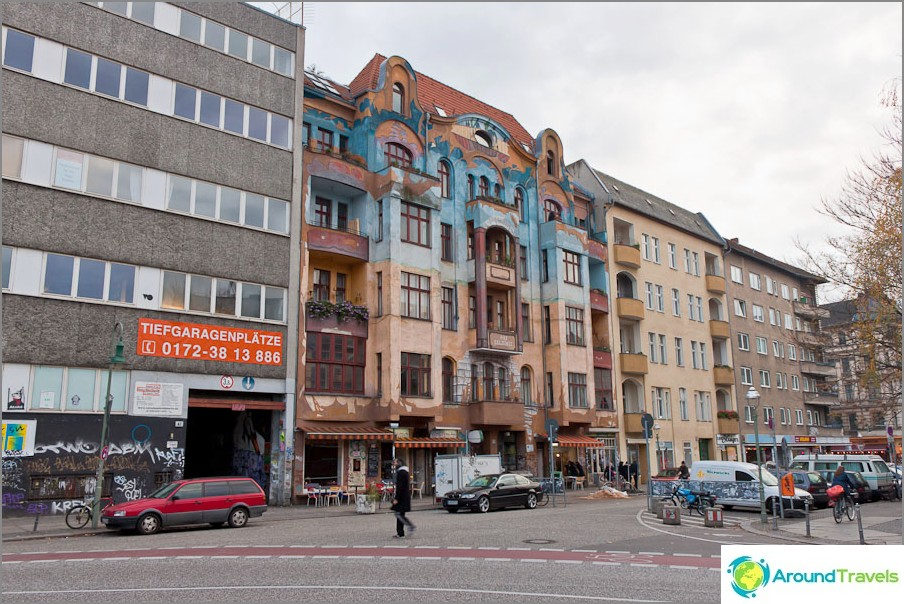 Интересна сграда в източен Берлин