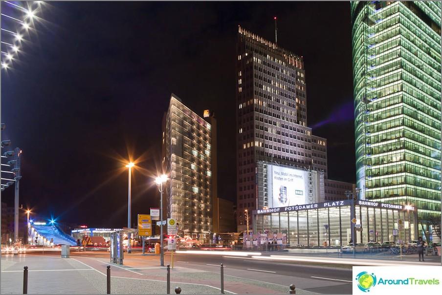 Модерен център на Берлин