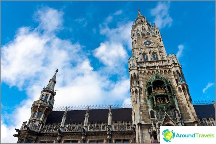 Ново кметство в Мюнхен - Neues Rathaus