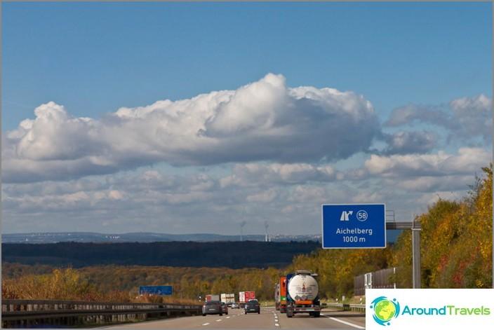 Ilmaisia autobahneja Saksassa