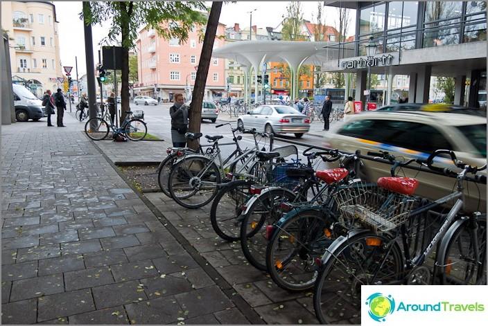 Kiinteät pyörät kaduilla