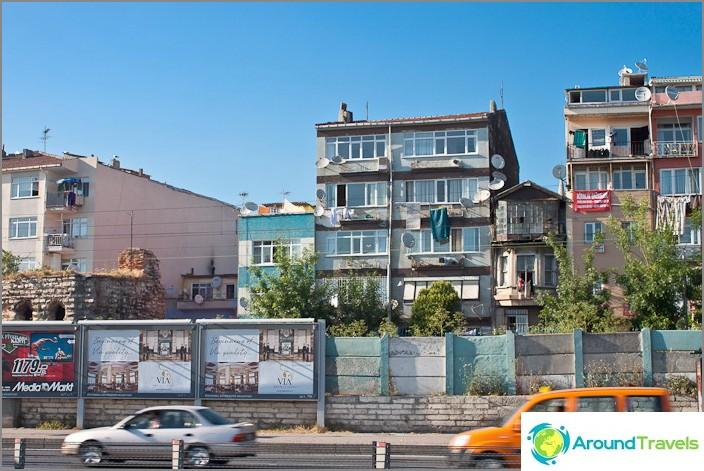 Град Истанбул. Турция.