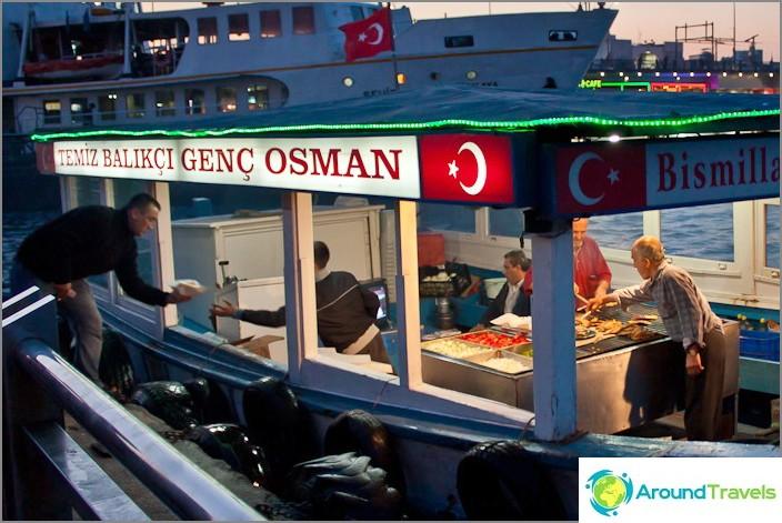 Плаващи mcdonalds. Турция.