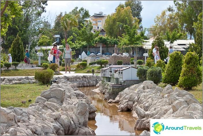Музей на мини град в Анталия.