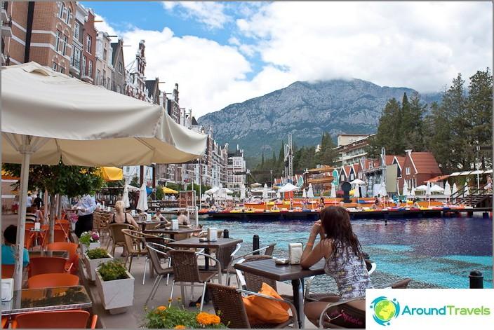 Resort Turkiet. Femstjärnigt hotell.