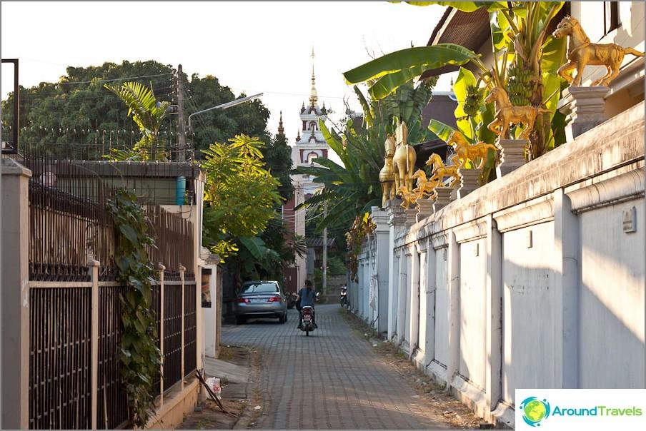 Улица в Чианг Май