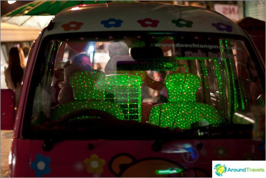 Космическо осветление в колата