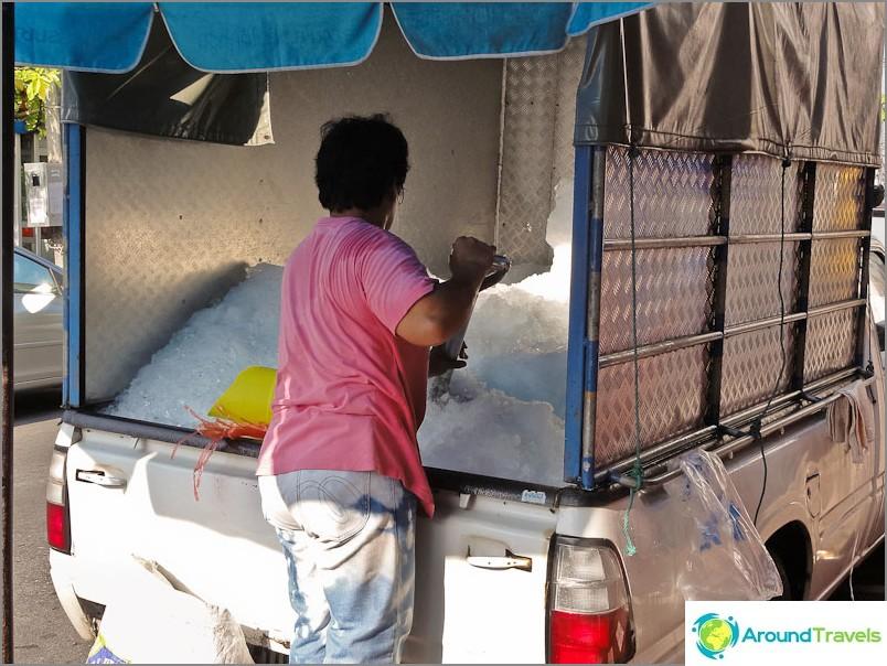 Как да транспортираме лед в Тайланд