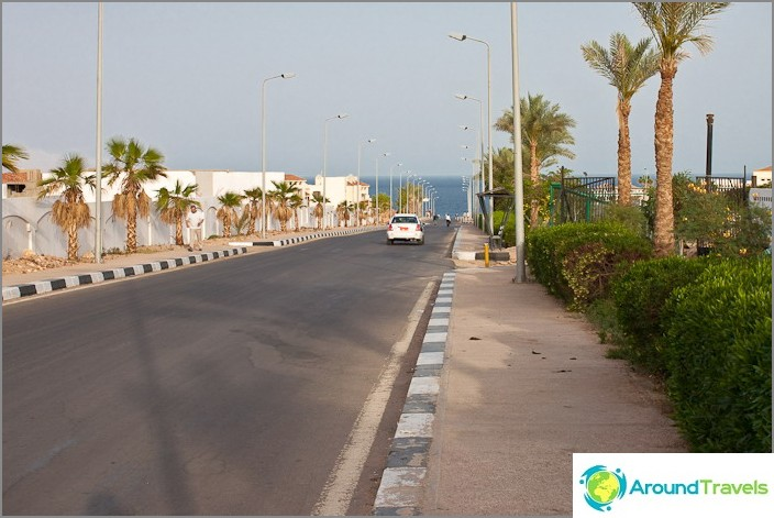 Улици на Шарм Ел Шейх.