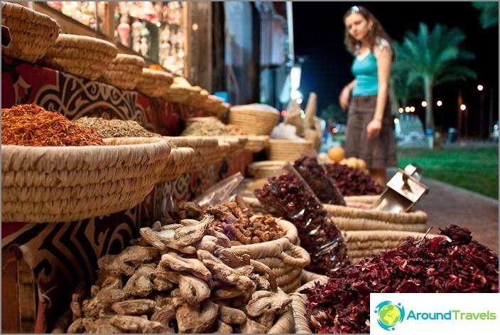 Пазарувайте в Шарм Ел Шейх. Египет.