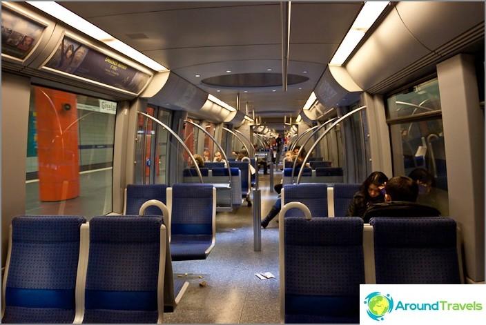 Nykyaikaiset junat