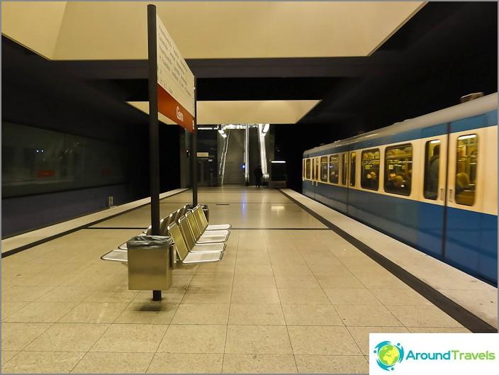 Münchenin metroasema