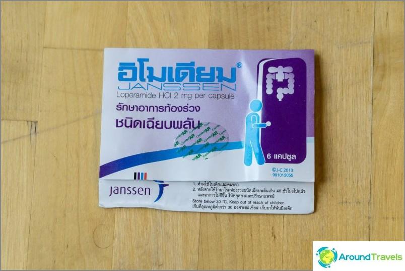 Loperamid för diarré