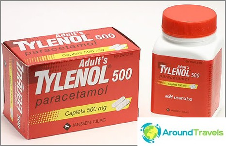 Tylenol - febernedsättande och smärtstillande