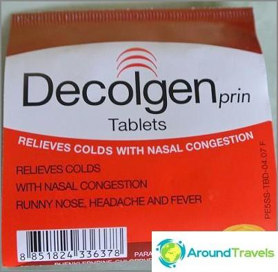 Decolgen - hjälper till med förkylning