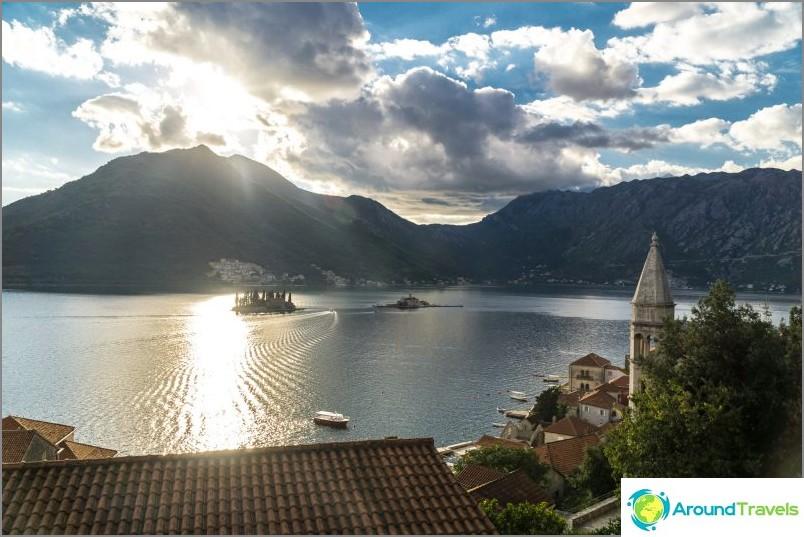 Boka Kotorska Bay Montenegrossa