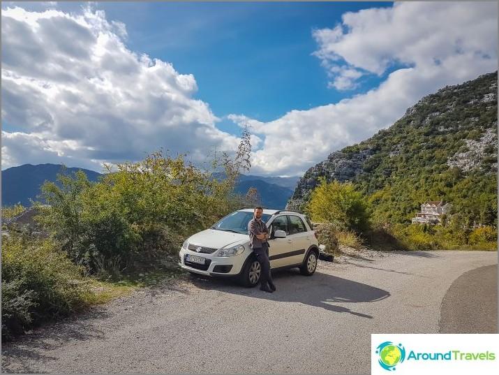 Autonvuokraus Montenegrossa