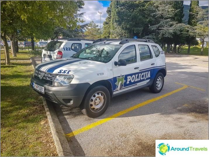 Mutta poliisi voi ajaa Dusterilla