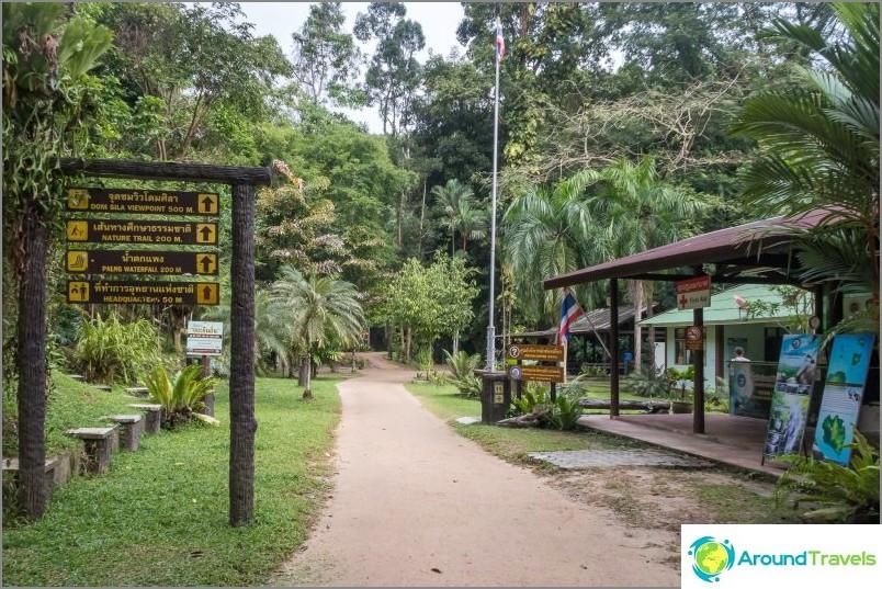 Phaengin vesiputous - paras vesiputous Koh Phanganissa kansallispuistossa Tan Sadet